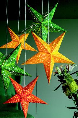 Starlightz kerstster Rood