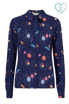 Sugarhill bloes catrina shirt blauw