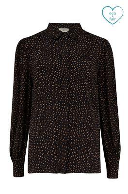 Sugarhill bloes prudence shirt zwart