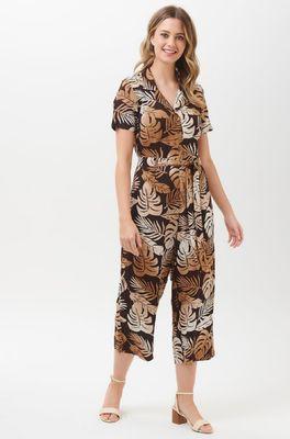 Sugarhill jumpsuit dora cocoa palm batik