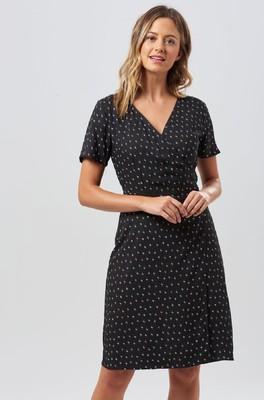 Sugarhill jurk aura zwart