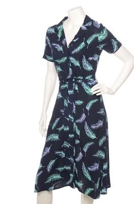 Sugarhill jurk kendra blauw