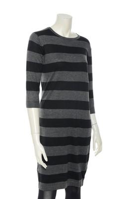 Sugarhill jurk zwart stripe