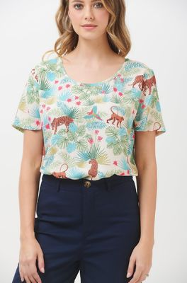 Sugarhill top tilda daybreak jungle multi