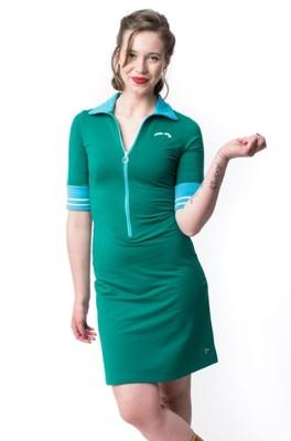 Tante Betsy jurk sporty groen