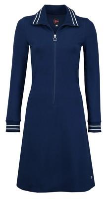Tante Betsy jurk sports  blauw