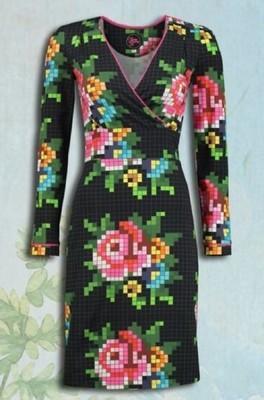 Tante Betsy jurk auntie rosie zwart