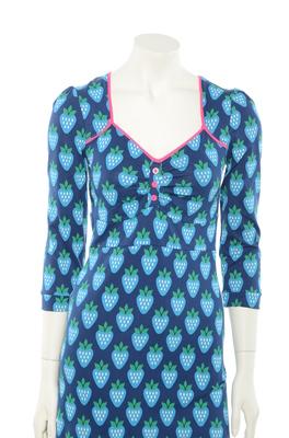 Tante Betsy jurk  lola blauw