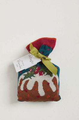 Thought figgy pudding socks in a bag multicolour
