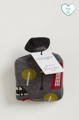 Thought sightseeing sock in a bag multicolour