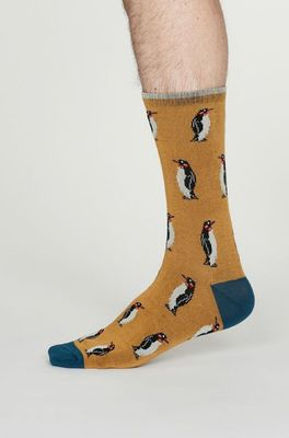 Thought sokken  geel