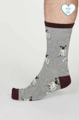 Thought sokken  grijs