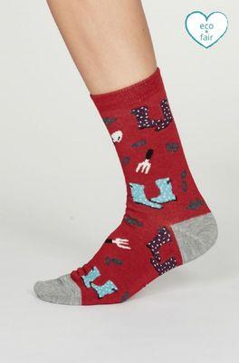 Thought sokken  rood