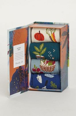Thought sokken allotment box multicolor