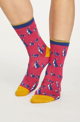 Thought sokken animal kin roze