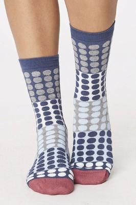 Thought sokken eva blauw