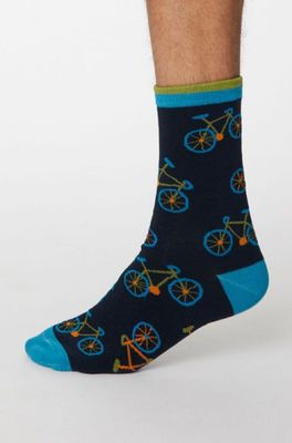 Thought sokken ciclista blauw