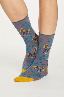 Thought sokken filly grijs