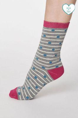 Thought sokken hope spot grijs