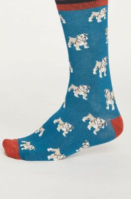 Thought sokken hound blauw