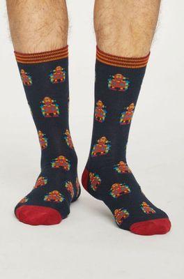 Thought sokken robot zwart