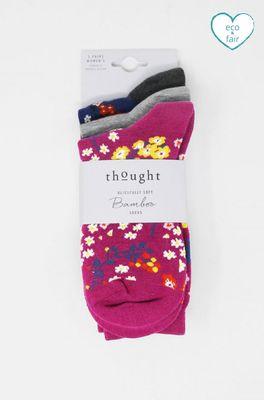 Thought sokken rozalia floral multicolor