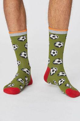 Thought sokken sport club olijf