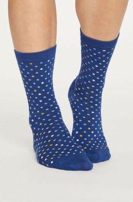 Thought sokken spotty blauw