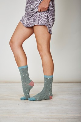 Thought grijze sokken