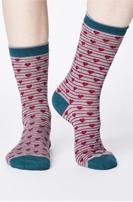 Thought sokken herbert grijs