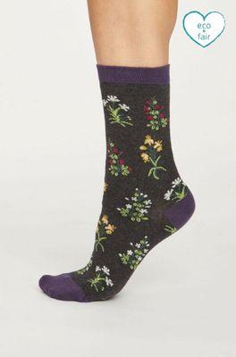 Thought sokken sylvan grijs