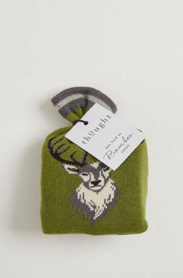 Thought stag sock in a bag multicolour