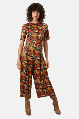 Traffic People jumpsuit bianca blauw