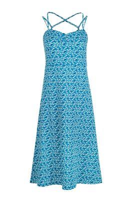 Tranquillo jurk femi blauw