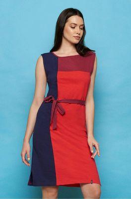 Tranquillo jurk jania rood