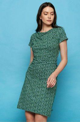 Tranquillo jurk patraea groen