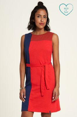 Tranquillo jurk rood