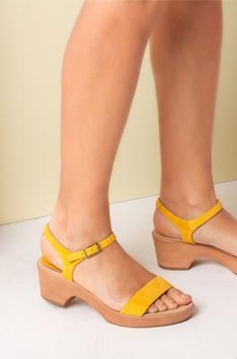 Unisa sandaal irita geel