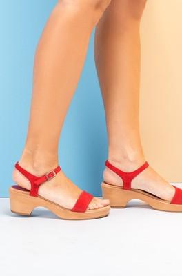 Unisa sandaal rood