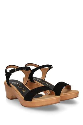 Unisa sandaal zwart