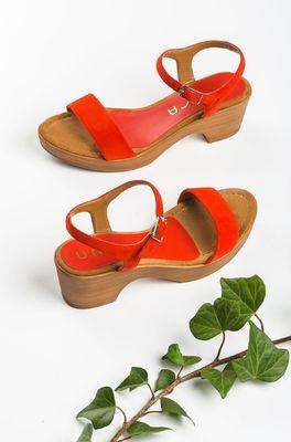 Unisa schoen irita rood