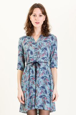 uvr berlin jurk bergild fe 2161 blauw