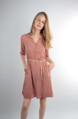 UVR Connected jurk berghild rood