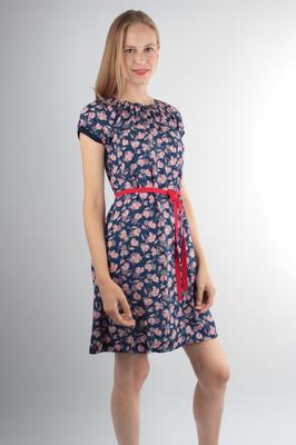 UVR Connected jurk natascha blauw
