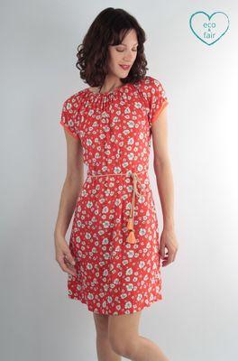 UVR Connected jurk natascha rood