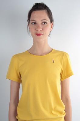 UVR Connected shirt senta geel
