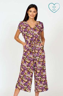 Vacant jumpsuit purple haze paars