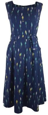Vacant jurk flossie blauw