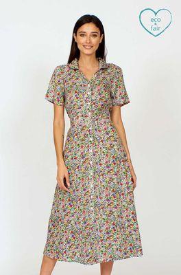 Vacant jurk jonie ditsy multicolor