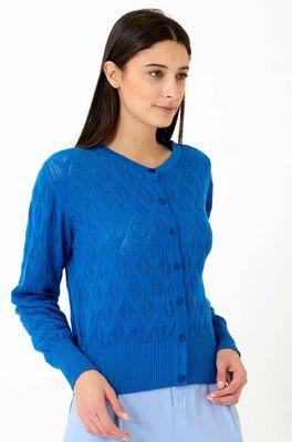 Vacant vest bud blauw